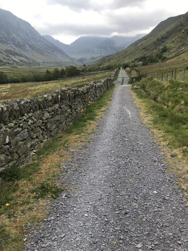 Lon Las Ogwen and the Glyders