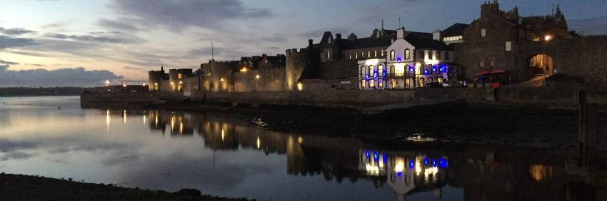 Caernarfon at Night