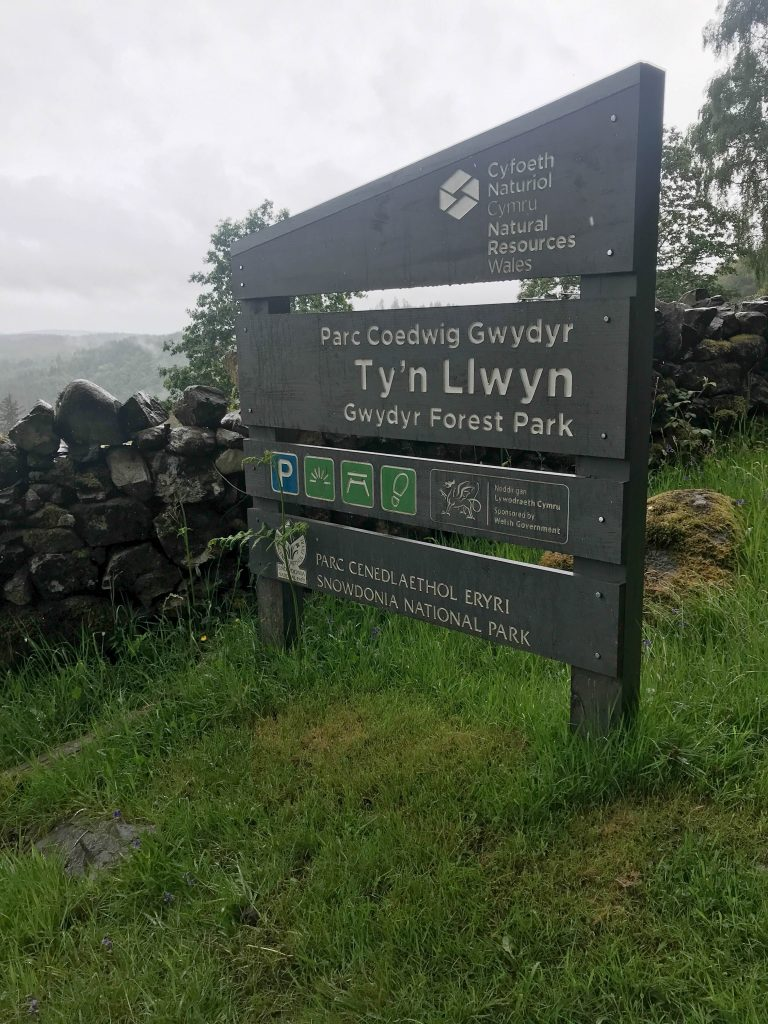 Ty'n Llwyn Car park and picnic area
