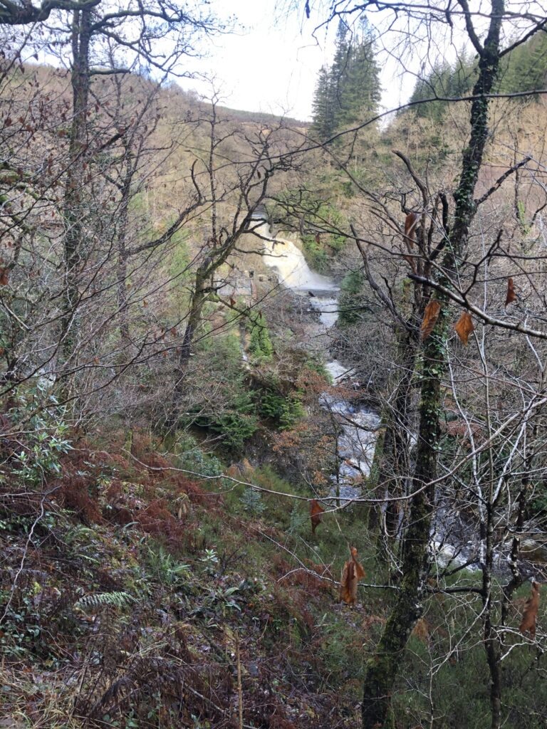 Rhaeadr Mawddach in the distance